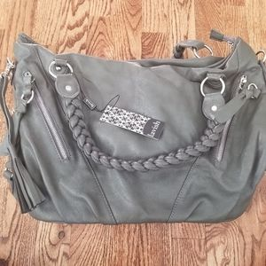 Lavish BNWT Handbag with Braided Strap